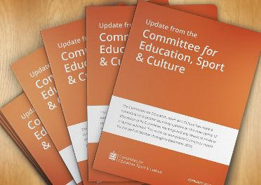 Update from the Committee for Education, Sport & Culture