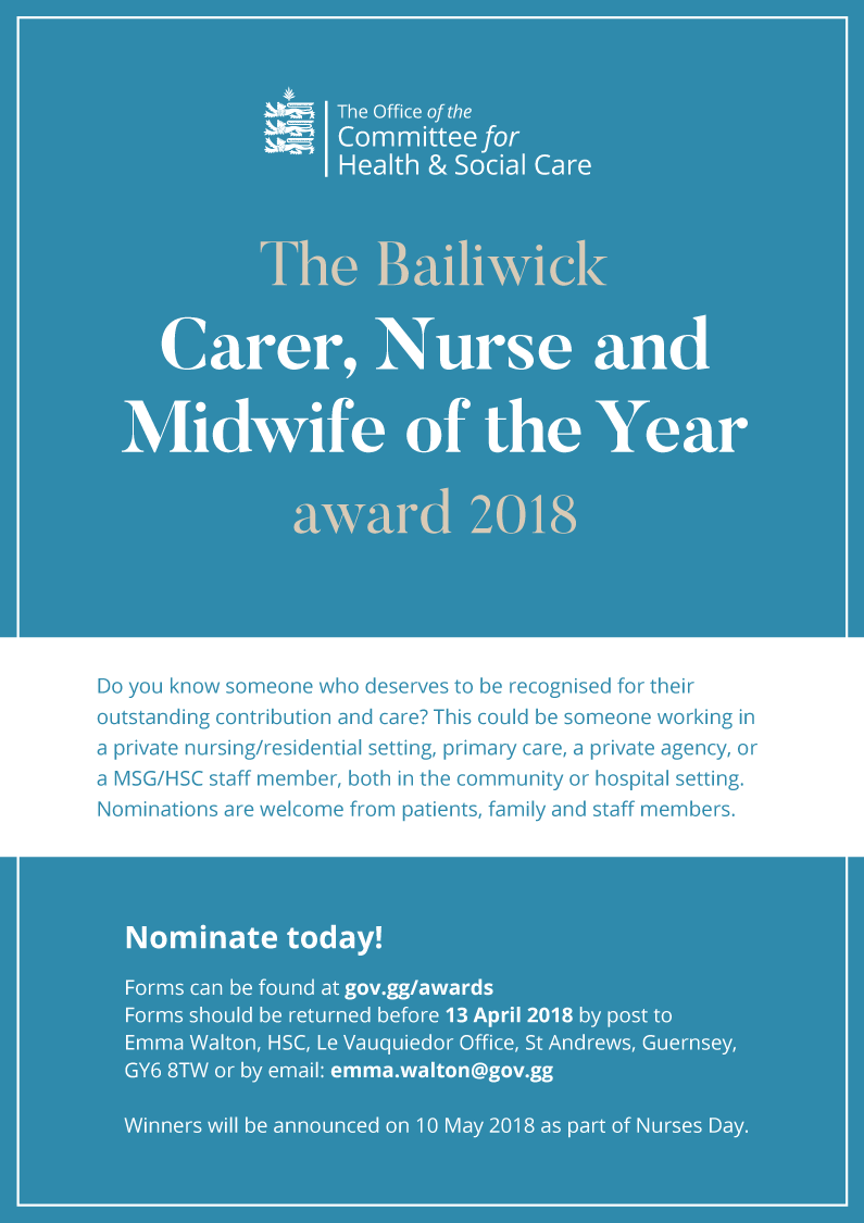 Carer Nurse and Midwife of the Year Award
