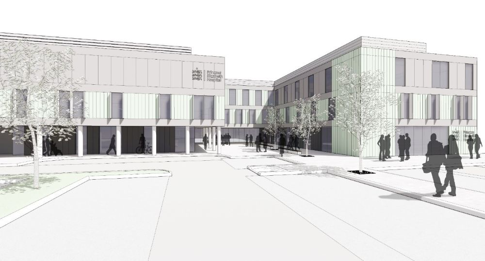 Artist Impression PEH Front Entrance