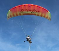 Wheelchair Paragliding